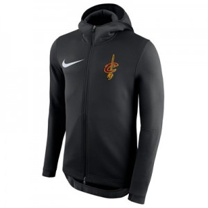 Cleveland Cavaliers Nike Showtime Therma Flex Hoodie - Mens