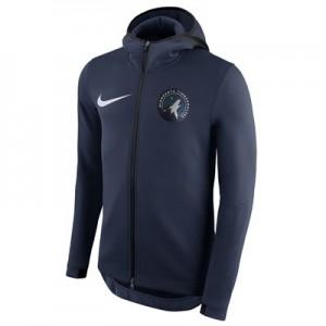 Minnesota Timberwolves Nike Showtime Therma Flex Hoodie - Mens