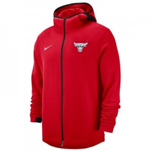 Chicago Bulls Nike Showtime Hoodie - Mens