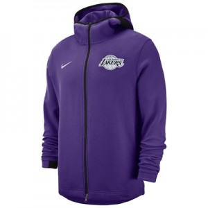 Los Angeles Lakers Nike Showtime Hoodie - Mens