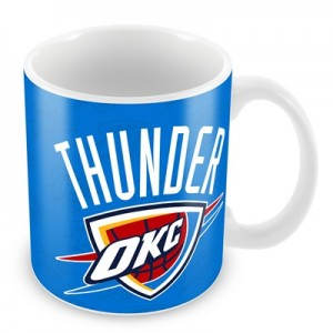 Oklahoma City Thunder 11oz Team Logo Mug