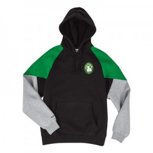 Boston Celtics Trading Block Hoodie By Mitchell & Ness - Mens
