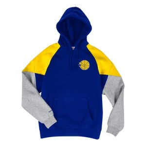 Golden State Warriors Trading Block Hoodie By Mitchell & Ness - Mens