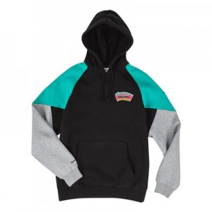 San Antonio Spurs Trading Block Hoodie By Mitchell & Ness - Mens