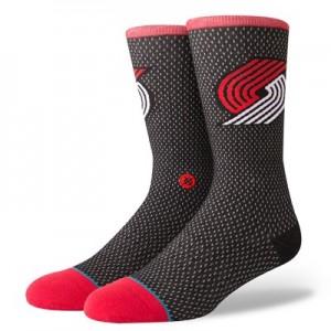 Nike Portland Trail Blazers Stance Jersey Sock - Mens Portland Trail Blazers Stance Jersey Sock - Mens