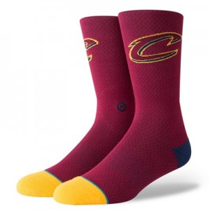 Nike Cleveland Cavaliers Stance Jersey Sock - Mens Cleveland Cavaliers Stance Jersey Sock - Mens
