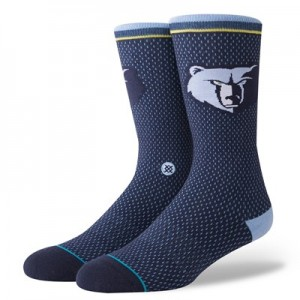 Nike Memphis Grizzlies Stance Jersey Sock - Mens Memphis Grizzlies Stance Jersey Sock - Mens