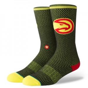 Nike Atlanta Hawks Stance Jersey Sock - Mens Atlanta Hawks Stance Jersey Sock - Mens