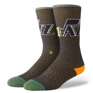 Nike Utah Jazz Stance Jersey Sock - Mens Utah Jazz Stance Jersey Sock - Mens