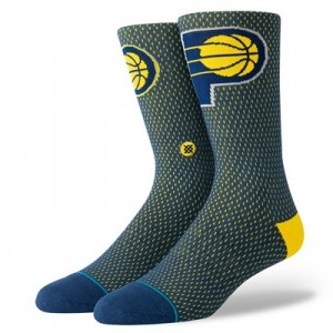 Nike Indiana Pacers Stance Jersey Sock - Mens Indiana Pacers Stance Jersey Sock - Mens