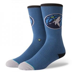 Nike Minnesota Timberwolves Stance Jersey Sock - Mens Minnesota Timberwolves Stance Jersey Sock - Mens
