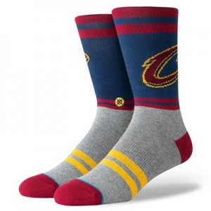 Cleveland Cavaliers Stance City Gym Sock - Mens