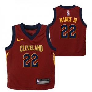 Nike Cleveland Cavaliers Nike Icon Replica Jersey - Larry Nance Jr. - Kids Cleveland Cavaliers Nike Icon Replica Jersey - Larry Nance Jr. - Kids