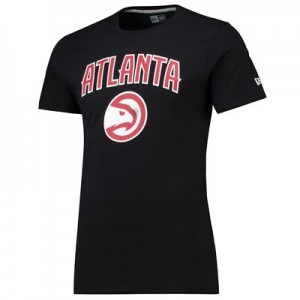 Atlanta Hawks New Era Team Logo T-Shirt - Mens