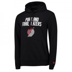 Portland Trail Blazers New Era Team Logo Hoodie - Mens