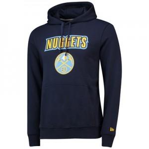 Denver Nuggets New Era Team Logo Hoodie - Mens