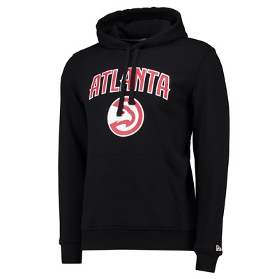 Atlanta Hawks New Era Team Logo Hoodie - Mens