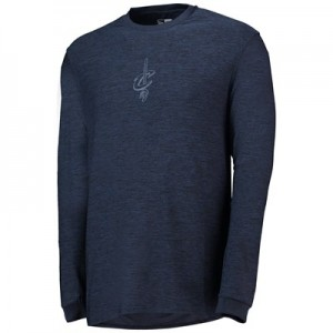 Cleveland Cavaliers New Era Engineered Fit Long Sleeve T-Shirt - Mens