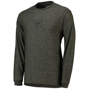 Chicago Bulls New Era Engineered Fit Long Sleeve T-Shirt - Mens