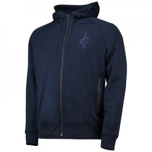 Cleveland Cavaliers New Era Engineered Fit Zip-Thru Hoodie - Mens