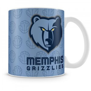 Memphis Grizzlies 11oz Team Logo Mug