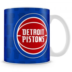 Detroit Pistons 11oz Team Logo Mug