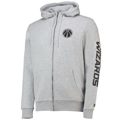 Washington Wizards New Era Core Full Zip Hoodie - Mens