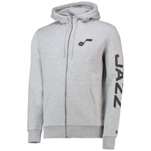 Utah Jazz New Era Core Full Zip Hoodie - Mens