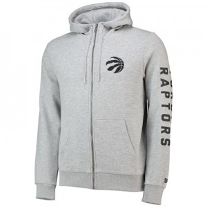 Toronto Raptors New Era Core Full Zip Hoodie - Mens
