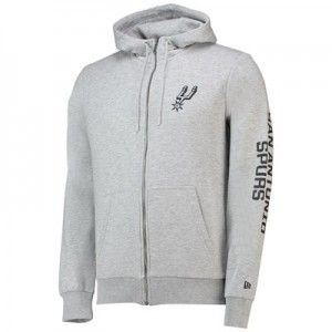 San Antonio Spurs New Era Core Full Zip Hoodie - Mens