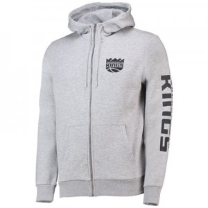 Sacramento Kings New Era Core Full Zip Hoodie - Mens