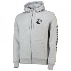 Minnesota Timberwolves New Era Core Full Zip Hoodie - Mens