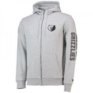 Memphis Grizzlies New Era Core Full Zip Hoodie - Mens