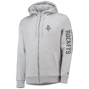Houston Rockets New Era Core Full Zip Hoodie - Mens