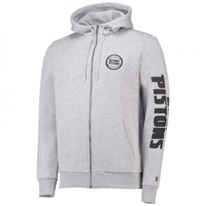 Detroit Pistons New Era Core Full Zip Hoodie - Mens