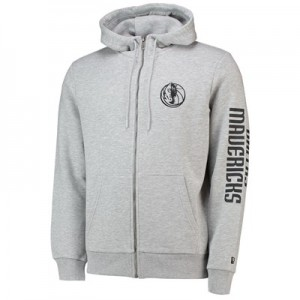 Dallas Mavericks New Era Core Full Zip Hoodie - Mens