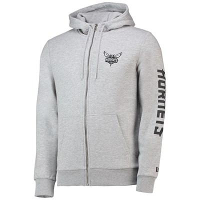 Charlotte Hornets New Era Core Full Zip Hoodie - Mens