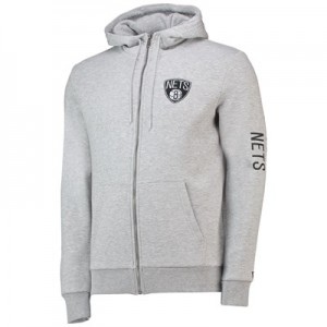 Brooklyn Nets New Era Core Full Zip Hoodie - Mens