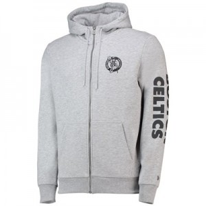 Boston Celtics New Era Core Full Zip Hoodie - Mens