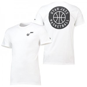 Utah Jazz New Era Core Dual Logo T-Shirt - Mens
