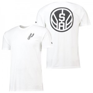 San Antonio Spurs New Era Core Dual Logo T-Shirt - Mens