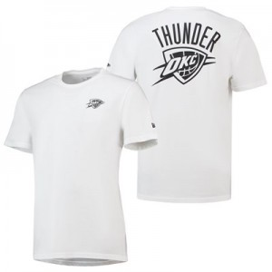 Oklahoma City Thunder New Era Core Dual Logo T-Shirt - Mens