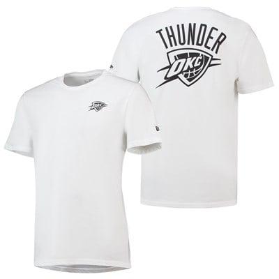Oklahoma City Thunder New Era Core Dual Logo T-Shirt - Mens