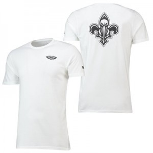 New Orleans Pelicans New Era Core Dual Logo T-Shirt - Mens