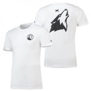 Minnesota Timberwolves New Era Core Dual Logo T-Shirt - Mens