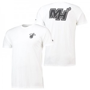Miami Heat New Era Core Dual Logo T-Shirt - Mens