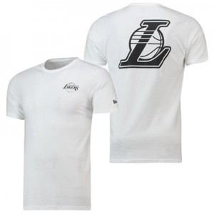 Los Angeles Lakers New Era Core Dual Logo T-Shirt - Mens
