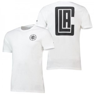 LA Clippers New Era Core Dual Logo T-Shirt - Mens