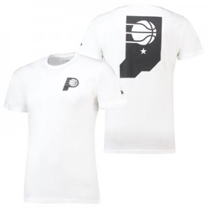 Indiana Pacers New Era Core Dual Logo T-Shirt - Mens