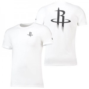 Houston Rockets New Era Core Dual Logo T-Shirt - Mens